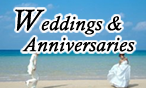 Wedding & Anniversaries( External link )